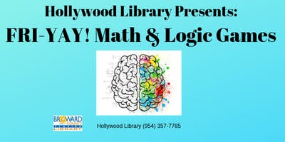 FRI-YAY! Math & Logic Games