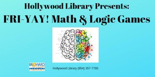 FRI-YAY! Math & Logic Games