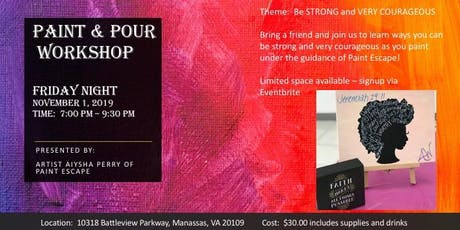 Paint & Pour - Ladies Night Out tickets