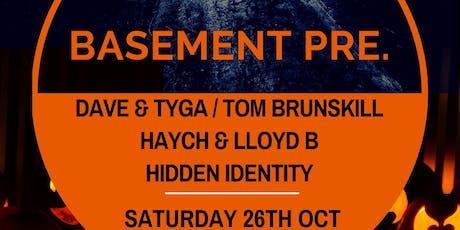 Basement Pres.  Halloween tickets