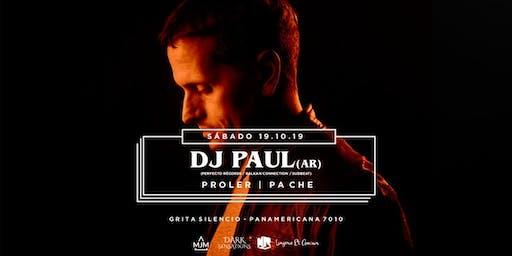 DJ PAUL ( AR) en Mendoza Sáb 19/10