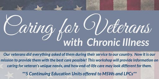 Caring for Veterans with Chronic Illness