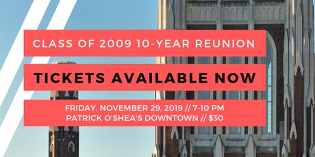 Manual Class of 2009 10-Year Reunion tickets