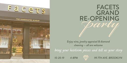 Facets Fine Jewelry Grand Re-Opening Fall Party