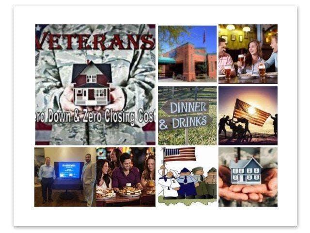 VA Homebuying Dinner/Workshop By Veterans for Veterans!