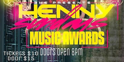 Henny sundays music awards