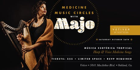 Medicine Music Circles with MAJO tickets