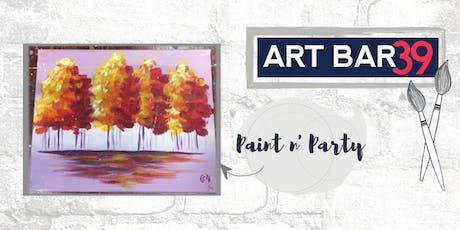 Paint & Sip | ART BAR 39 | Public Event | Autumn Breeze tickets