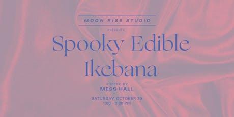 Spooky Edible Ikebana tickets