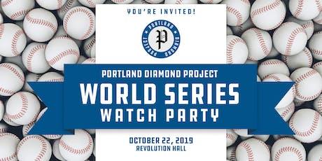 Portland Diamond Project World Series Watch Party tickets