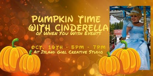 Pumpkin Time with Cinderella