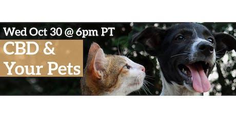 Ellementa Online Presents: CBD and Your Pets tickets