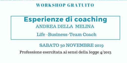 Esperienze di coaching