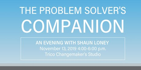The Problem Solver's Companion: An Evening with Shaun Loney tickets