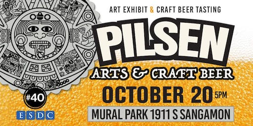 Invitation to Brew, Bites, and Beats at Pilsen Arts & Craft Beer Tasting