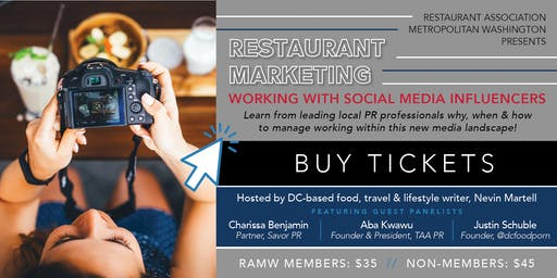 Restaurant Marketing: Working with Social Media Influencers