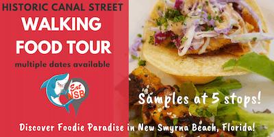 Canal Street Walking Food Tour - Eat NSB