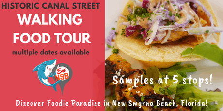 Canal Street Walking Food Tour - Eat NSB tickets