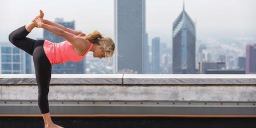 Rosé Flow with CorePower Yoga
