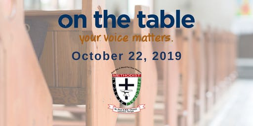 On the Table Chat: St. Paul AME Church