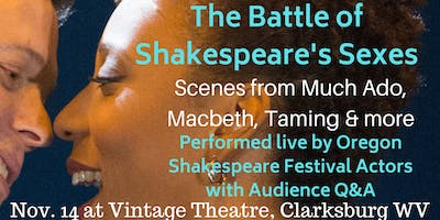 The Battle of Shakespeare's Sexes!