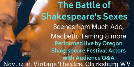 The Battle of Shakespeare's Sexes!  tickets
