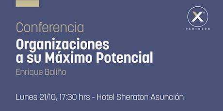 Conferencia Organizaciones a su Máximo Potencial entradas