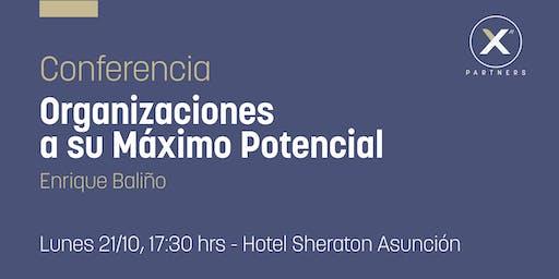 Conferencia Organizaciones a su Máximo Potencial