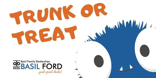 Basil Fords Trunk or Treat