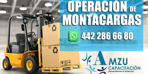 CURSO OPERACION DE MONTACARGAS