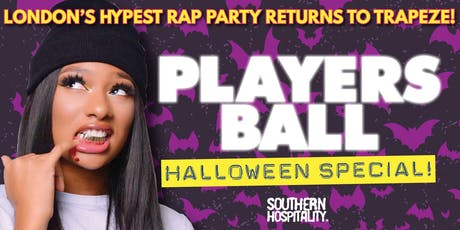 Players Ball - Hip Hop + R&B- Halloween! tickets