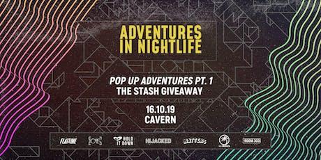 Adventures In Nightlife: Stash Giveaway tickets
