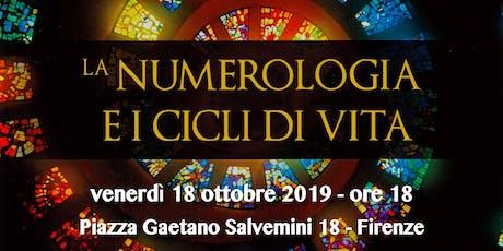 Presentazione del libro La numerologia e i cicli della vita Guido Rossetti biglietti