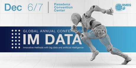 Innovative Methods with Big Data and Artificial Intelligence (IM Data) tickets