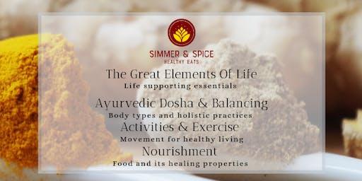 Ayruvedic Principles Workshop - Dosha & Lifestyle