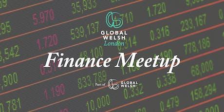 GlobalWelsh London - finance meetup tickets