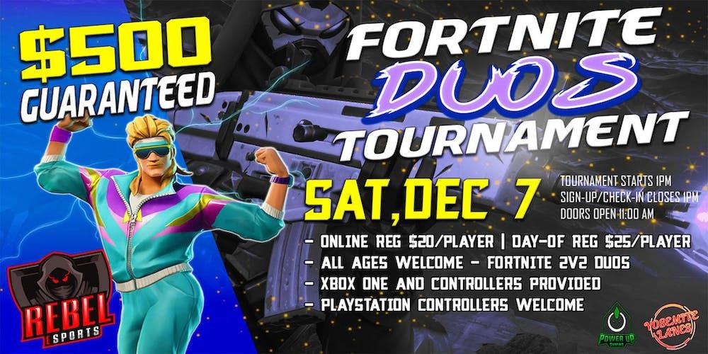 Fortnite Duos Dec 7th