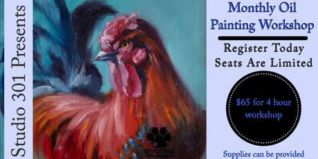 November - Monthly Oil Painting Workshop tickets
