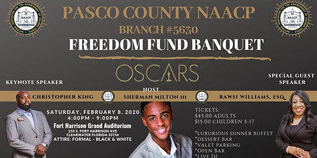 Pasco County NAACP 2020 Freedom Fund Banquet tickets