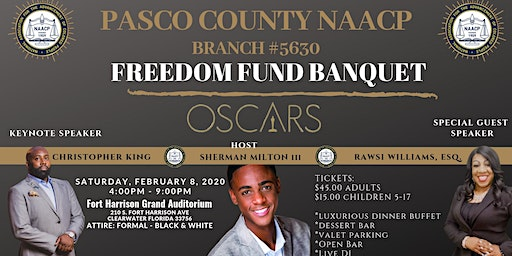 Pasco County NAACP 2020 Freedom Fund Banquet