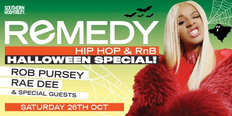 REMEDY - Hip Hop Halloween! tickets