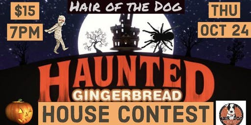 Haunted Gingerbread House Contest