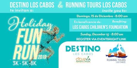 Destino Los Cabos Holiday 3k, 5k & 8k Fun Run tickets