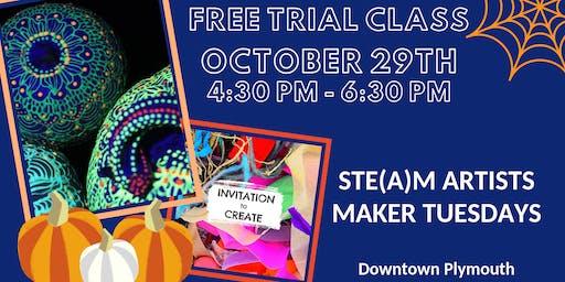 Halloween Maker Tuesdays - STE(A)M Artists