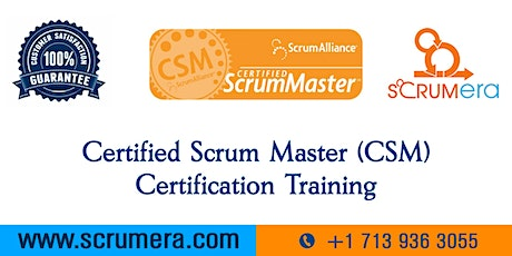 Scrum Master Certification | CSM Training | CSM Certification Workshop | Certified Scrum Master (CSM) Training in Shreveport, LA | ScrumERA tickets