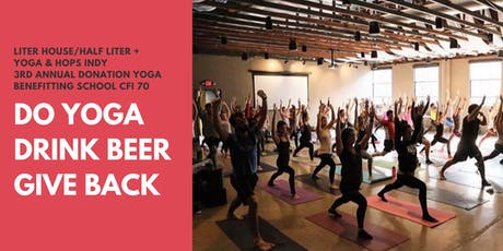 Do Yoga, Drink Beer, Give Back tickets