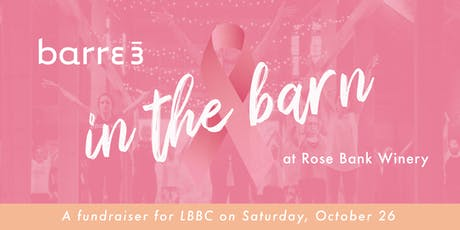 Barre3 in the barn tickets
