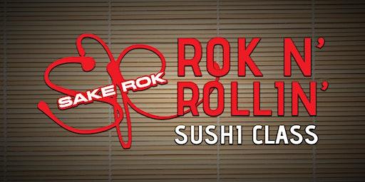 December ROK n' Rollin' Sushi Classes