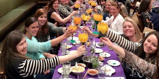 New Class! Wine Glass Painting Party Workshop at Nacho's Restaurant Cantina & Grill on 10/29 @ 6pm