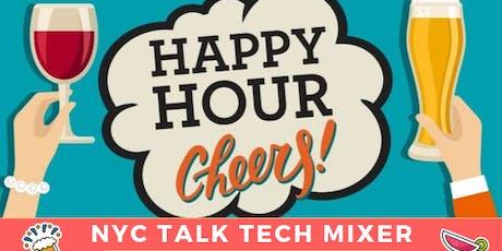 NYC Talk Tech Mixer tickets